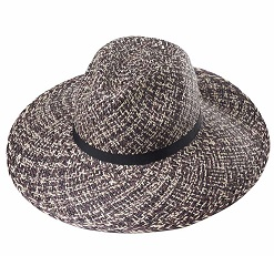 Ladies Trilby Twisted Black